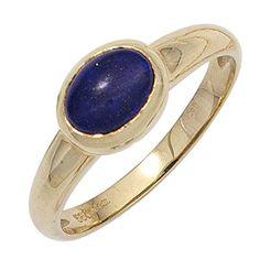 Damen-Ring 1 Lapis Lazuli 14 Karat (585) Gelbgold 52 (16.6) Dreambase http://www.amazon.de/dp/B00N5C2U9E/?m=A37R2BYHN7XPNV