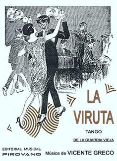 """""""La viruta"""", tango de la guardia vieja, de Vicente Greco"""