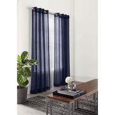 Lisbeth' Sheers Grommet Panel - Curtain for $23.99