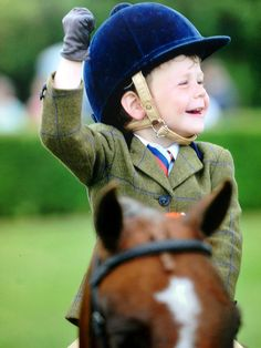 Three-Year-Old Rider Makes History, Reaches Prestigious Event  The talented Harry Edwards-Brady is set to make his debut at a prestigious equestrian event after winning an impressive four 'best rider' titles at local shows.