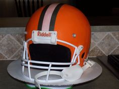 Cleveland Browns Helmet - Everything is edible except for the face mask.