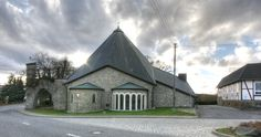 Church St. Elisabeth (r.c.), Birken-Honigsessen, Germany I built in 1929 by Dominikus Böhm
