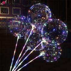 bobo balloon lights flashing led helium balloons on Light Up Balloons, Led Balloons, Balloon Lights, Plastic Balloons, Ballon Led, Deco Ballon, 14th Birthday, Birthday Parties, Teen Birthday