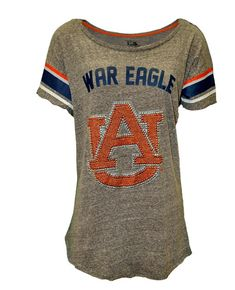 the best attitude 51da6 e8bed War Eagle Stud Tee   Auburn University Apparel by Tiger Rags Auburn  Football, College Football