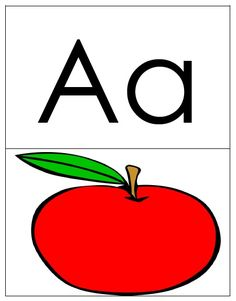Alphabet and Phonics Flashcards - A to Z Color Flashcards, Phonics Flashcards, Alphabet Letters To Print, Phonics Cards, English Alphabet, Alphabet Activities, Letter Size Paper, Letter Sounds, Learn To Read