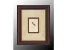 Shop for John Richard Small Birds II, GRF-4800B, and other Accessories at Westside Foundry in Atlanta, GA. Reproduction Print With Gold Accents On Custom Background. In Black And Gold Grain Finished Wood Frame.  17W x 21H (set of 4...different sizes)
