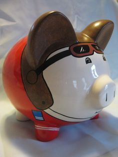 Minnesota Vikings Piggy Bank - Large With Hat | Minnesota Vikings ...