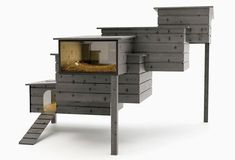 Breed Retreat / i don't have hens, or a backyard, but this would be lovely in it if i did. designed by Frederik Roijé.