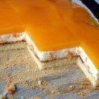 Smotanové rezy s mandarínkami • recept • bonvivani.sk Nutella, Pudding, Custard Pudding, Puddings, Avocado Pudding