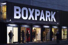 Studio Makgill - Boxpark pop up mall London