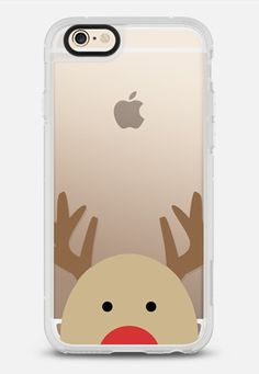 Red Nose Reindeer iPhone 6 case by Allyson Johnson   Casetify