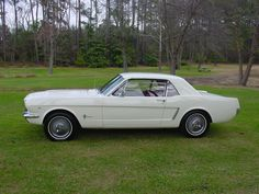 1964 MUSTANG 389 WHITE   Antique Cars, Classic Cars Collector, Cars for sale and Trucks for ...