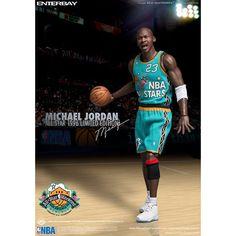 Enterbay 1/6 Scale Michael Jordan #23 NBA All Star Stars 1996 Game Eastern MVP