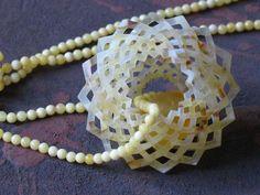 """DOROTA KOS-PL jewelry -   """"Rosa"""" Ałatyr 2007, 100 % amber"""