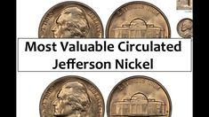 The Most Valuable Circulated Jefferson Nickel You Can Find In Your Change Antique Coins, Old Coins, Rare Coins, Coins Worth Money, Yarn Flowers, Valuable Coins, Coin Worth, Error Coins, Money Makers