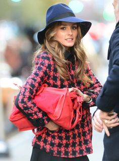Olivia Palermo fashion photo shoot in New York City