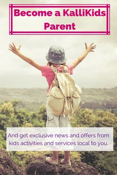 Become a KalliKids parent for free and get exclusive access to discounts and offers in your region.
