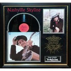 Luxe Bob Dylan - Nashville Skyline - Signed Album