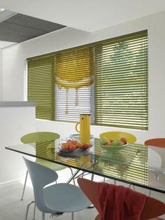 Blind with print. Aluminium jaloezie met print, Luxaflex