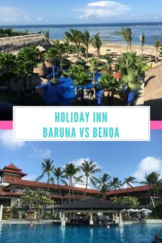 Holiday Inn Baruna Vs Holiday Inn Benoa - Rolling Along With Kids Bali With Kids, Travel With Kids, Family Travel, Bali Family Holidays, Bali Accommodation, Hotels For Kids, Bali Travel, Water Slides, Beach Resorts