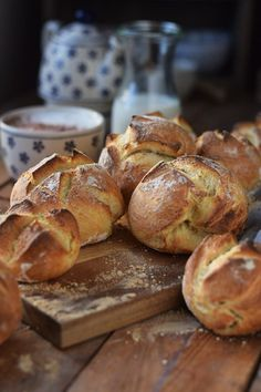 Kartoffel-Dinkel-Brötchen: Frühstück? - Das Knusperstübchen (Breakfast Recipes Quiche)