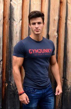 Hunks Men, Hommes Sexy, Muscular Men, Athletic Men, Attractive Men, Hot Boys, Cute Guys, Pretty Boys, Beautiful Men