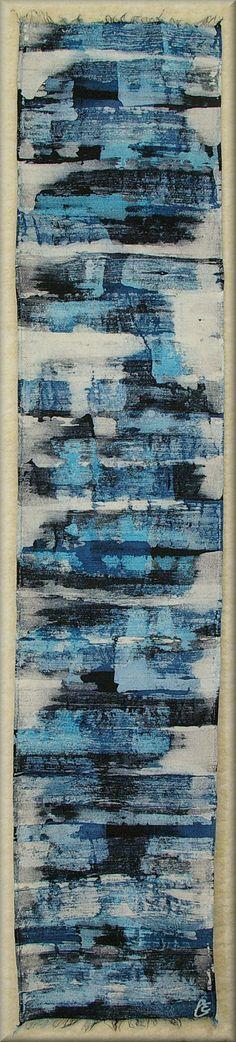 "Thick Dupioni Silk Mens Scarf (approx. 11x60 inches)  Hand dyed by Laura Elderton ""SilkinArt""  https://www.etsy.com/shop/lauraelderton"