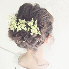 今流行りの、外国人風の髪色*結婚式直前に≪グレージュカラー≫に染める花嫁さんが多数! | marry[マリー]