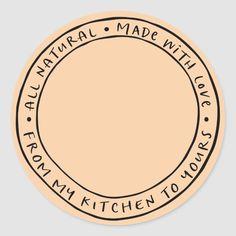 Shop Jar / Spice Natural Organic Sticker Label created by mistyqe. Baking Logo Design, Cake Logo Design, Food Logo Design, Logo Food, Jar Packaging, Packaging Stickers, Label Stickers, Restaurant Logo, Bakery Logo