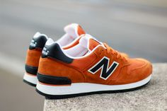 "New Balance 670 ""Orange Pack"" (Made in England)"