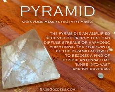The shape of a gem can matter just as much as the properties of the stone itself. Use gems for crystal healing. #crystalhealing