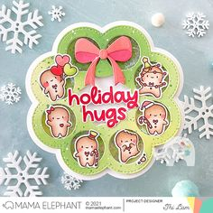 mama elephant | design blog: STAMP HIGHLIGHT: Little Gingerbread Agenda