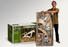 DIY Lowrider Wooden Beach Cruiser Bicycle by Jurgen