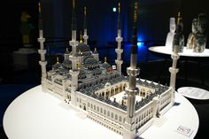 """Historic Areas of Istanbul"" Lego Creator, The Creator, Lego Architecture, Lego Brick, Exhibit, Legos, Istanbul, Peace, Candles"