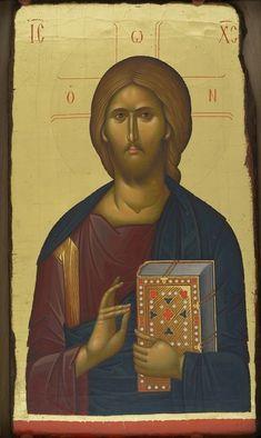 Religious Icons, Religious Art, Christ Pantocrator, Byzantine Icons, Hagia Sophia, Catholic Prayers, Orthodox Icons, King Of Kings, Jesus Christ