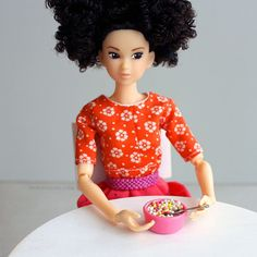 I will start new series on my blog tomorrow. I'm going to present all my dolls…