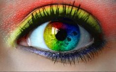 Eyes love #colors #FF #color