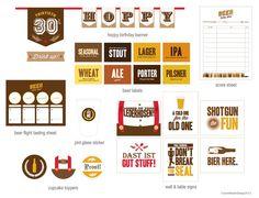 Oktoberfest Beer Tasting Party Printables by JacksMaster on Etsy, $29.00