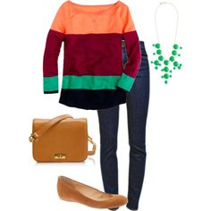 """""""Jcrew outfit"""" by kcomen on Polyvore"""