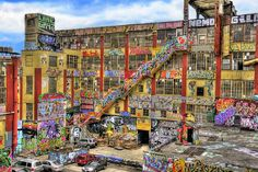 Biggest legal yard in the country; 5pointz NYC. You can paint inside the building too. All stories. I would honestly die happy if i visited before it closes down. Thats what heaven is