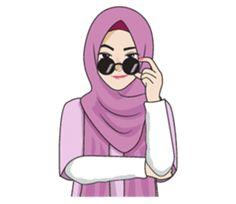 Gorgeous Hijab Girl 2 – LINE stickers | LINE STORE