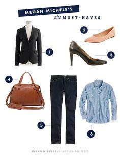 Megan Michele | Fashion & Expert Stylist | 6 Must-Have Wardrobe Pieces