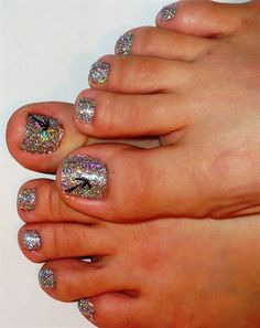 Rock star toes #2 by JapanNails - Nail Art Gallery nailartgallery.nailsmag.com by Nails Magazine www.nailsmag.com #nailart