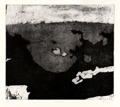 """Swimmer"" soft ground etching with aquatint"