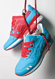 BAIT X ASICS GEL-LYTE III (BLUE RING)