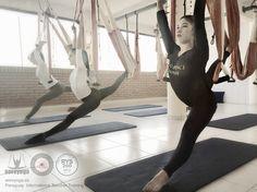 Paraguay! 4 al 11 Septiembre, Curso Intensivo Aeroyoga® AeroPilates® Acreditado por Yoga Alliance