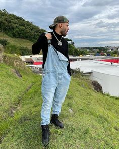 Bib Overalls, Dungarees, Herren Outfit, Guys, Pants, Outfits, Men, Fashion, Trouser Pants