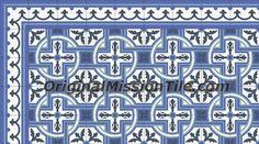 MILAN 6X6Other classic designs- 6x6 (15x15 cm) / Original Mission Cement Tile & Encaustic Cement Tile