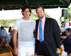 Nacho Figueras, John Wash at International Polo Club