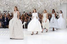 Le défilé Dior haute couture automne-hiver 2014-2015